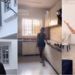 BBNaija 2019 winner Mercy shows off the interior of her new acquired duplex (video)
