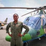 Buhari mourns First Female Flying Officer, Arotile