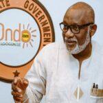 Ondo 2020: Akeredolu emerges APC Flagbearer