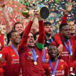 Liverpool lift Premier League Trophy after 30 years