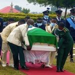 Arotile buried in Abuja amidst torrents of tears