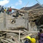 10 trapped as building collapses in Abuja‎