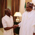 Edo Guber: Buhari meets Oshiomhole