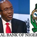 ‎CBN says Nigeria's foreign reserves will fall below $34.3bn by end December