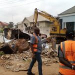 Enugu Airport Fence: Enugu Govt demolishes Emejulu's building