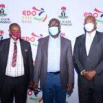 Obaseki swears-in new commissioners, EDSOGPADEC board members, others