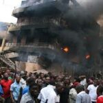 Early morning fire razes 14 shops, 16 kiosks in Lagos market