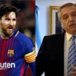 Argentina President wants Messi to complete career with home club