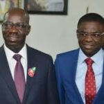 Speaker, 9 other duly inaugurated Edo Assembly members, visit, congratulate Obaseki