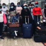 71 Nigerian girls trafficked to Lebanon return home‎