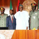 Insecurity: Buhari, Osinbajo meet with Service Chiefs, IGP