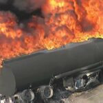 Two dead as petrol tanker explodes in Imo