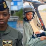Airforce Immortalises Late Arotile, female combat officer