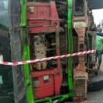Container crushes two young women to death in Lagos ‎