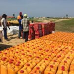 NEMA distributes food to IDPs in Borno