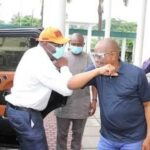 Obaseki visits Wike, says God used Edo people, Rivers Gov, others to reelect him