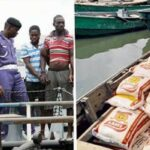 Navy nabs 8 suspected smugglers, seizes smuggled rice worth N73m in Calabar