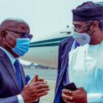 $1m levy on Nigerian Traders: Gbajabiamila arrives Accra, meets Ghanaian Speaker