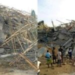 Asaba building collapse claims one life, injures 4 others
