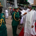 Buhari, Jonathan, Gowon mark 60th Independence Anniversary in Abuja