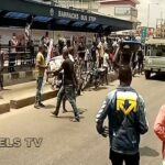 One feared dead as #EndSARS protest turns violent in Lagos ‎