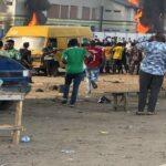 #EndSARS: Layeni, Pako police stations set ablaze in Lagos