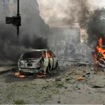 #EndSARS: Hoodlums set car mart ablaze in Abuja 