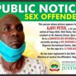 Ekiti shames convicted sex offender