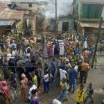 Hoodlums loot Ibadan market, burn 15 shops
