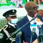 Shock, panic as Obaseki's aide collapses during inauguration