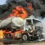 Ogun tanker explosion kills two, destroys 35 vehicles