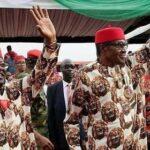 Umahi's defection to APC based on principles, not coercion says Buhari