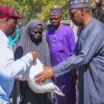 Zulum gives out N24 million cash to 1,200 indigent people at former Boko Haram caliphate seat
