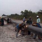 Panic as Julius Berger ruptures NNPC gas pipeline on Lagos-Ibadan expressway