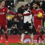 EPL: Salah penalty rescues Liverpool against Fulham