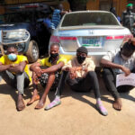 Police arrest traffic robbers, recover weapons in Lagos