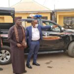 Just in: Former Gov, Okorocha arrested, detained by police in Owerri + pictures