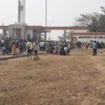 UniAbuja students protest against increment of school fees