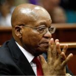 Ex-South African President, Jacob Zuma Surrenders, Now In Custody