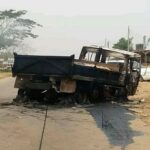Four students, Okada rider crushed to death in Oyo