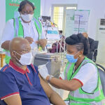 Boss Mustapha, Lai Mohammed, others take COVID-19 vaccine