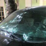 Gunmen attack Kaduna monarch's convoy, riddle car with bullets