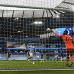 EPL: Chelsea delay Man City's party as Aguero misses penalty