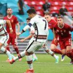Euro 2020: Ronaldo makes history as Portugal hammer Hungary 3-0