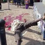 Unknown Gunmen Behead Man In Anambra With Warning Note 'No Election' (Graphic)