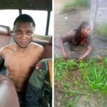 Suspected Internet Fraudster Arrested While Attempting To Behead His Girlfriend For Money Rituals In Bayelsa